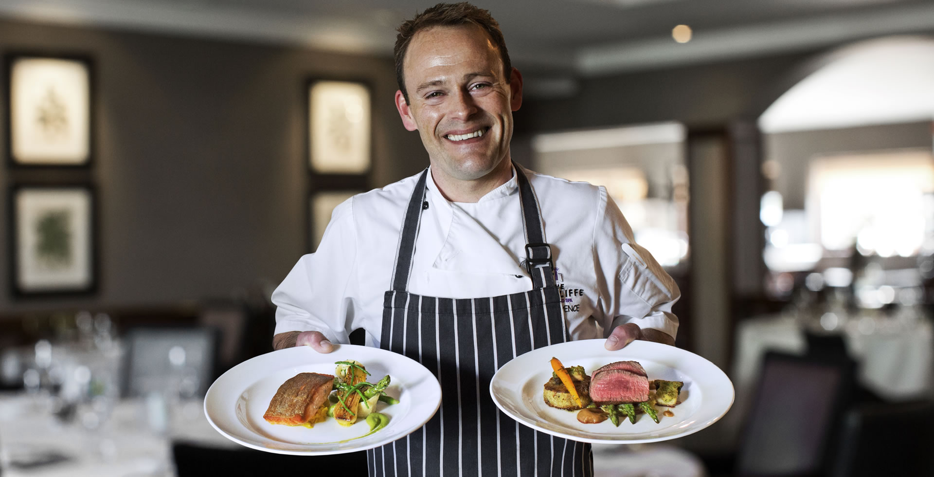 Chef cuisine at Marcliffe Hotel